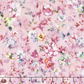 Fleur Couture - Sachet Rose Digitally Printed Yardage