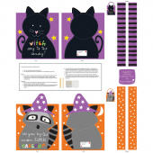 Huggable & Lovable Books - Halloween Treat Bags Panel