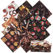 Chocolicious Digitally Printed Fat Quarter Bundle