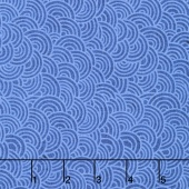 Indi-glow - Uneven Shells Dark Blue Yardage