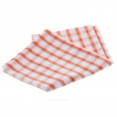 Tea Towel - Orange Picnic Plaid