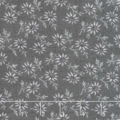 Blackwood Cottage - Small Floral Dark Gray Yardage