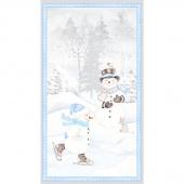 Snow Valley - Large Multi Panel