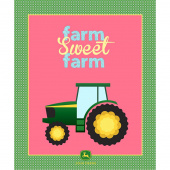 John Deere - Farm Sweet Farm with Plaid Panel