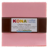 Kona Cotton Solids - New Bright Palette Charm Pack