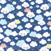 Stellar Baby - Cutie Clouds Nightfall Yardage