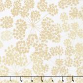 "Blueprint Basics Wide - Floral Natural 108"" Wide Backing"