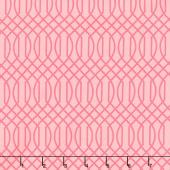 Flower Market - Geometric Pink Yardage