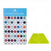 Missouri Star Small Half Hexagon Template & Floating Hexagon Pattern Bundle