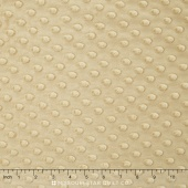 "Cuddle Embossed Dimple - Camel 60"" Minky Yardage"