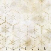 Artisan Batiks - Dot Dot Dot 2 Hexagon Dots Champagne Yardage
