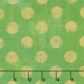Grunge Hits the Spot - Fern Metallic Yardage
