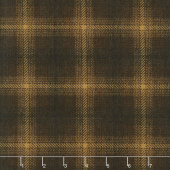 Wool & Needle Flannels V - Big Bang Plaid Bark Yardage