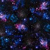 Stargazers - Space Nightfall Digitally Printed Yardage