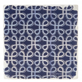 Indigo Patterns Coaster - Loops
