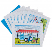 Campers Note Cards