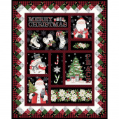 Farmhouse Christmas - Multi Digitally Printed Panel