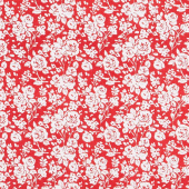Summertime - Roses Red Yardage