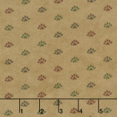 Return to Cub Lake - Bear Paw Golden Flannel Yardage