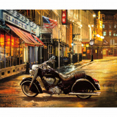 Indian Motorcycle - Chief Classic Digitally Printed Panel