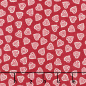 Scandi 5 - Hearts Red Yardage