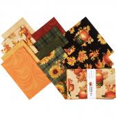 Autumn Elegance Fat Quarter Bundle
