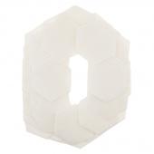 """Missouri Star Quilt As You Go Precut 2 1/2"""" Hexagon Batting Shapes"""