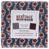 Heritage Reds and Blues Charm Pack