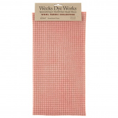 Weeks Dye Works Hand Over Dyed Wool Fat Quarter - Houndstooth Sweetheart Rose