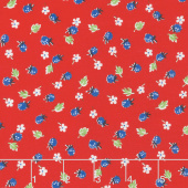 Sugar Sack - Berries Red Yardage