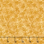 Echo - Tonal Filigree Honey Yardage
