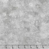 Winter White: Solstice - Winter Snowflakes Frost Metallic Yardage