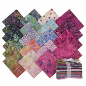 Tonga Treats Batiks - Orchid Fat Quarter Bundle