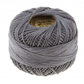 Presencia Perle Cotton Thread Size 8 Gray