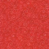 Moda Marble Swirls - Flag Red Yardage