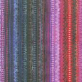 Flourish - Frill Garnet Digitally Printed Yardage