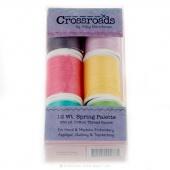 Sulky King Spools - Crossroads Denim - Spring Assortment  - 6 Color