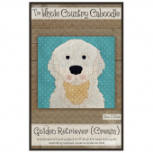 Golden Retriever Cream Precut Fused Appliqué Pack