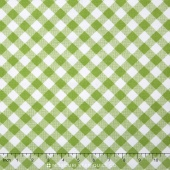 Sew Cherry 2 - Gingham Green Yardage