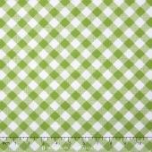 Sew Cherry 2 - Gingham Green Yardage
