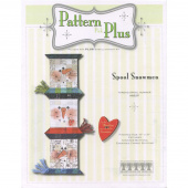 Spool Snowmen Pattern Pak Plus