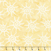Forget Me Not Batiks - Sun Cornmeal Yardage
