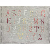 French General Belle Letters Embroidery Kit