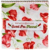 Sweet Pea Flannel Charm Pack