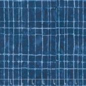 Tonga Batiks - Freedom Navy Geo Brick Tiles Yardage