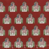 Celebrate America! - Barns Red Yardage