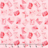 Love Letters - Rose Yardage