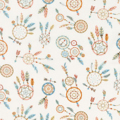 Camp - A - Long Critters - Dreamcatchers Ecru Yardage