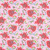 Natural Beauty - Field Folly Berry Yardage