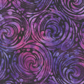 Artisan Batiks - Artful Earth Churn Violet  Yardage